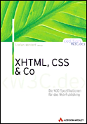 XHTML, CSS & Co